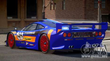 McLaren F1 G-Style PJ5 para GTA 4