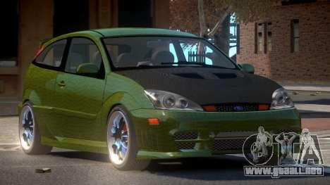 Ford Focus SVT R-Tuning PJ4 para GTA 4