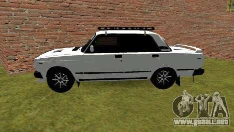 VAZ 2105 Kolkhoz de Optimización para GTA San Andreas