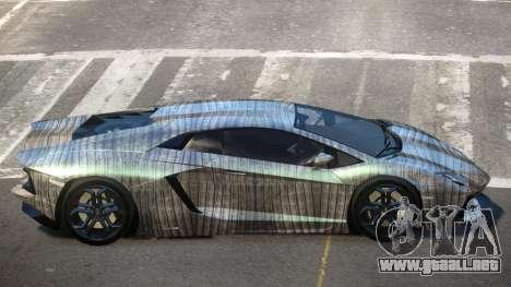 Lamborghini Aventador JRV PJ5 para GTA 4