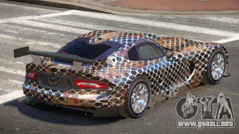 Dodge Viper SRT L-Tuning PJ3 para GTA 4