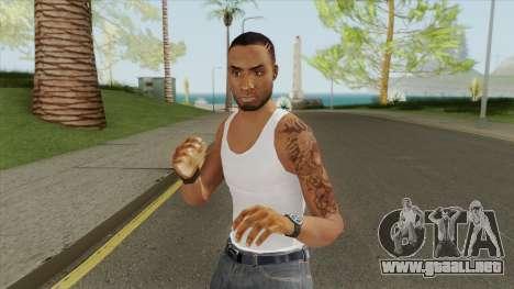 Crips Gang Member V4 para GTA San Andreas