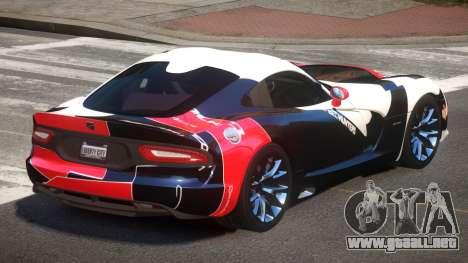 Dodge Viper SRT D-Tuned PJ3 para GTA 4