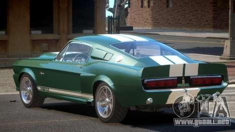Shelby GT500 R-Style para GTA 4