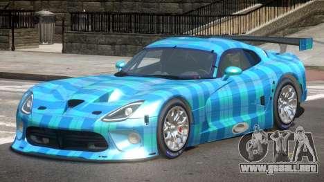 Dodge Viper SRT L-Tuning PJ5 para GTA 4
