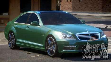 Mercedes Benz S63 DC para GTA 4