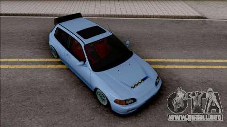 Honda Civic EG6 Stanced para GTA San Andreas