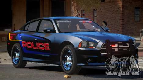 Dodge Charger JBR Police para GTA 4