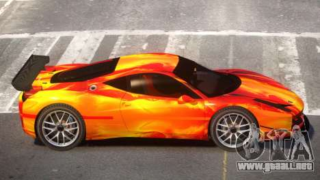 Ferrari 458 Qz PJ3 para GTA 4
