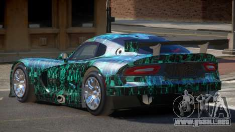 Dodge Viper SRT L-Tuning PJ2 para GTA 4