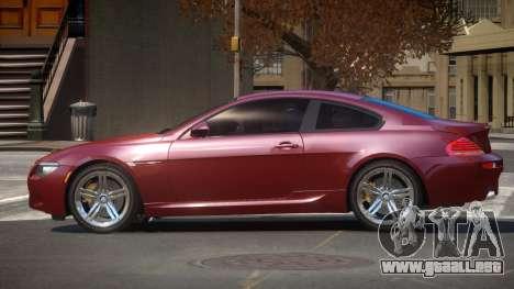BMW M6 F12 TDI para GTA 4