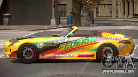 Mercedes-Benz SLS H-Style PJ5 para GTA 4