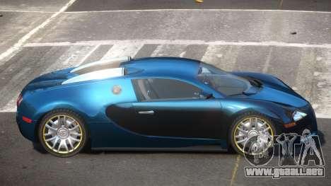 Bugatti Veyron 16.4 S-Tuned para GTA 4