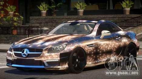 Mercedes Benz SLK Qz PJ2 para GTA 4