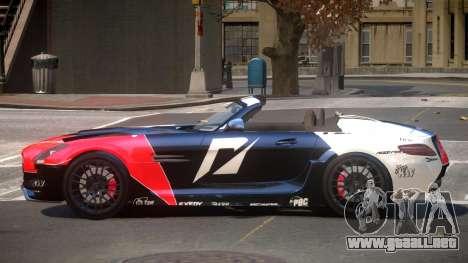 Mercedes-Benz SLS H-Style PJ6 para GTA 4
