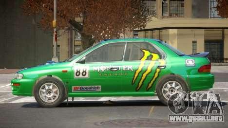 Subaru Impreza R-Tuned para GTA 4
