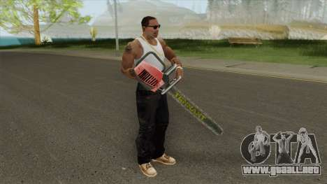 Chainsaw LQ (Manhunt) para GTA San Andreas