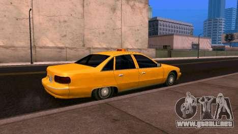Chevrolet Caprice 1993 Taxi SA de Estilo para GTA San Andreas