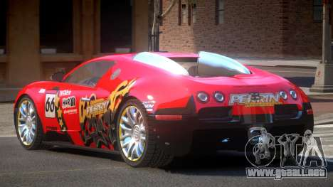 Bugatti Veyron 16.4 S-Tuned PJ2 para GTA 4