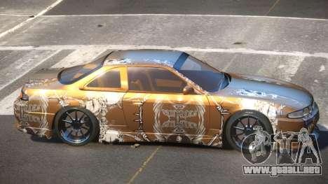 Nissan Silvia S14 R-Tuning PJ5 para GTA 4