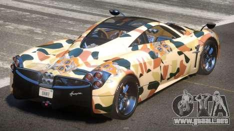 Pagani Huayra R-Tuned PJ2 para GTA 4