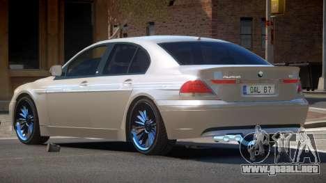 BMW B7 Alpina V1.0 para GTA 4