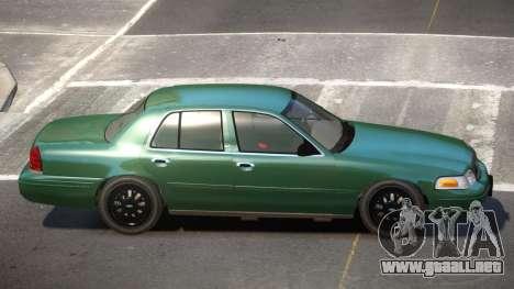 Ford Crown Victoria CL para GTA 4