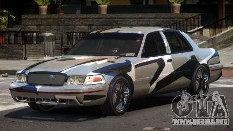 Ford Crown Victoria R-Tuned PJ6 para GTA 4
