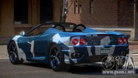 Ferrari 360 SR PJ2 para GTA 4