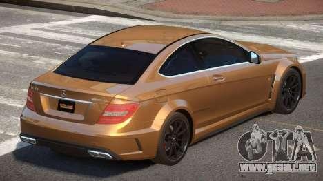 Mercedes Benz C63 V1.3 para GTA 4