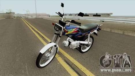 Honda WIN 100 para GTA San Andreas
