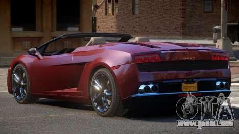 Lamborghini Gallardo LP560 RS para GTA 4