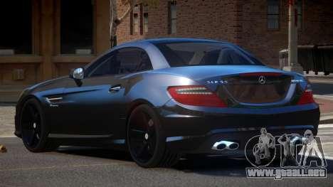 Mercedes Benz SLK Qz para GTA 4