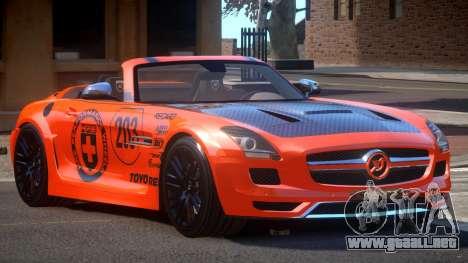 Mercedes-Benz SLS H-Style PJ2 para GTA 4