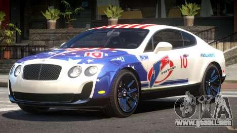 Bentley Continental RT PJ6 para GTA 4