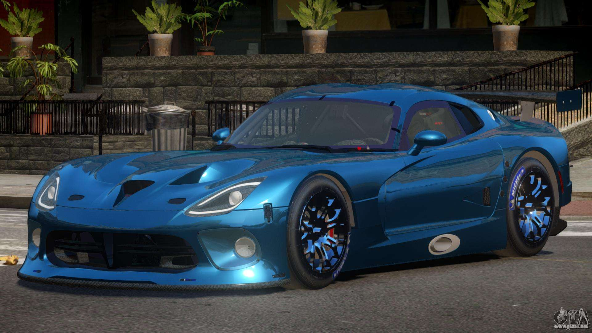 Dodge Viper Srt L Tuning Para Gta 4
