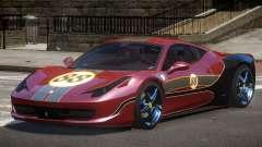 Ferrari 458 SRI-37 PJ6 para GTA 4