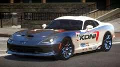 Dodge Viper SRT D-Tuned PJ4 para GTA 4