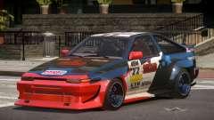 Toyota Corolla GT S-Tuning PJ1 para GTA 4
