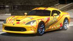 Dodge Viper SRT D-Tuned PJ5 para GTA 4