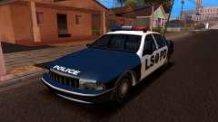 Chevrolet Caprice 1993 LSPD SA de Estilo para GTA San Andreas