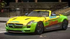 Mercedes-Benz SLS H-Style PJ3 para GTA 4