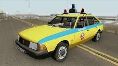 21418 AZLK Moskvich (GAI) de 1987 para GTA San Andreas