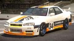 Nissan Skyline R34 D-Style PJ3 para GTA 4