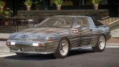 Mitsubishi Starion SR PJ6 para GTA 4