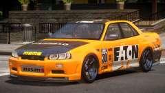 Nissan Skyline R34 D-Style PJ6 para GTA 4