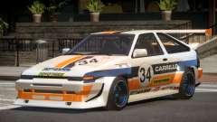 Toyota Corolla GT S-Tuning PJ5 para GTA 4