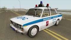 VAZ 2106 DPS (Policía de Moscú) para GTA San Andreas