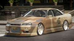 Nissan Skyline R34 SRS PJ1 para GTA 4