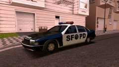 Chevrolet Caprice de 1993, la policía de san fra